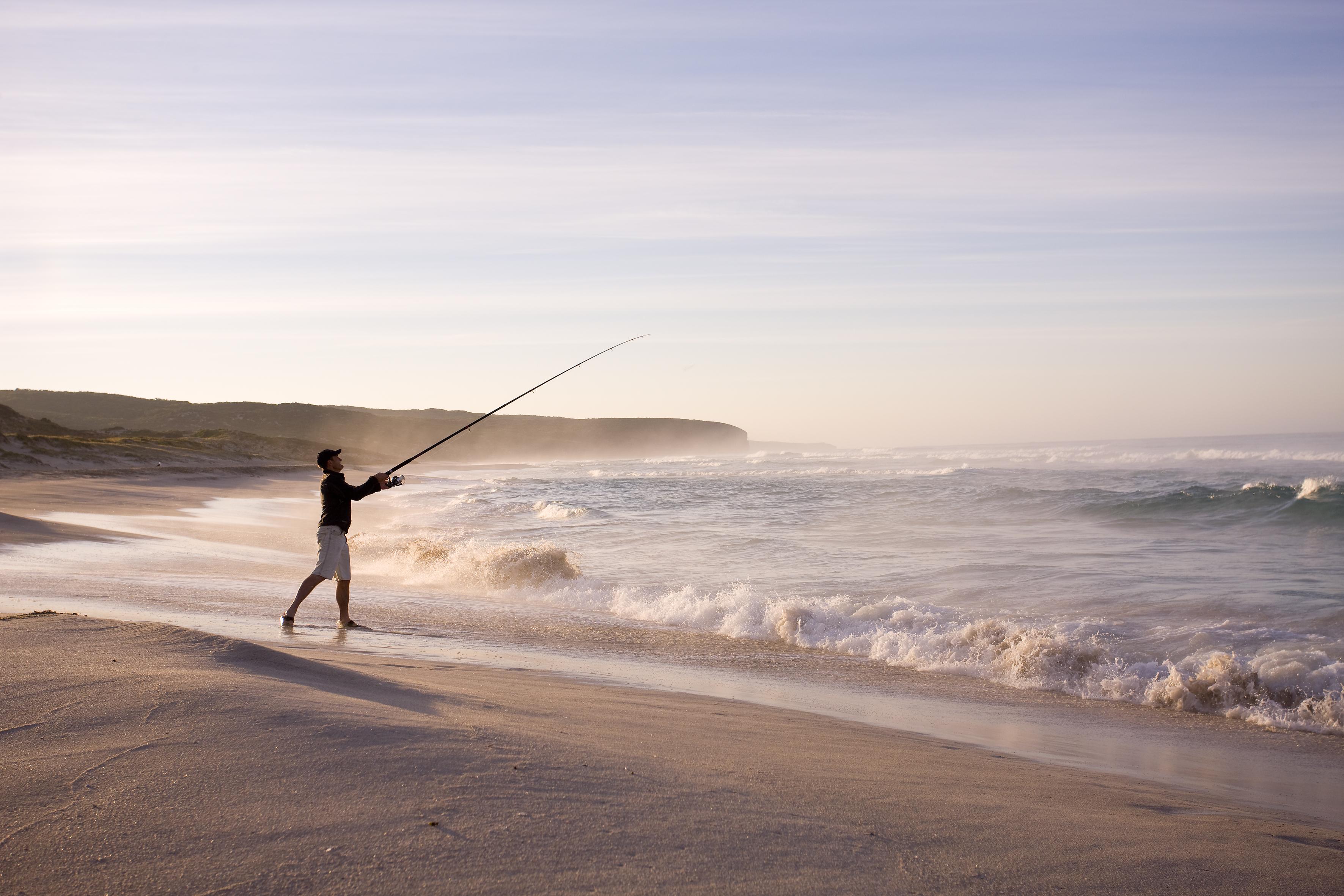 Kangaroo Island Beach Fishing
