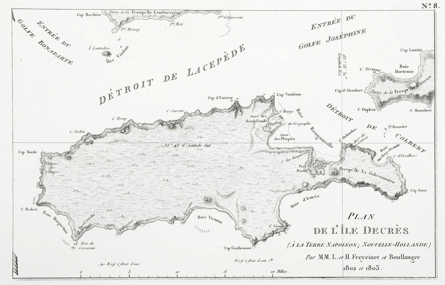 Plan De L'Ile Decres