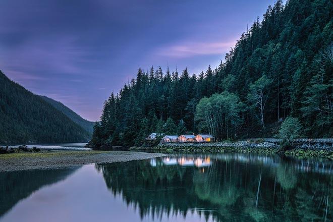 Lodge Sunset
